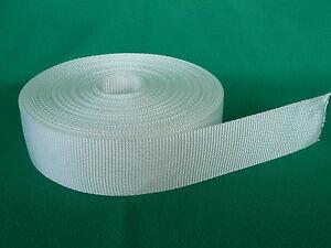Polyester Gurt 40 mm 10 m hochfest 1640 daN, Persenning Gurtband Sonnensegel PES