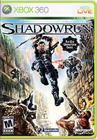 Shadowrun (Microsoft Xbox 360, 2007) Complete Free Shipping
