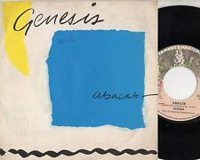 GENESIS disco 45 giri MADE in ITALY Abacab + Another record 1981 STAMPA ITALIANA