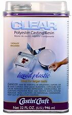 Clear polyester casting resin, New, Free Shipping