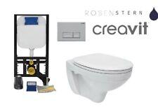 Wand WC SET OLI Ideal Standard SPÜLKASTEN 82cm WC SITZ weiss