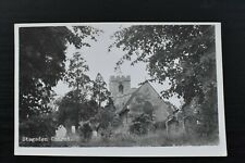 More details for vintage postcard stagsden church bedfordshire unposted real photo rp