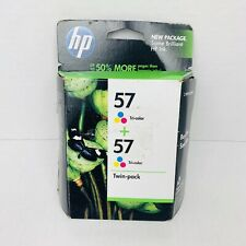HP #57 Tri-Colors Ink Cartridges Expired.