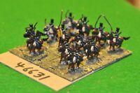 15mm 19th century / russian - crimean war cossacks 12 figs - cav (46631)