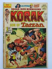 KORAK SON OF TARZAN # 46 - 59  US DC COMICS 1972-1975  Kubert Kaluta FN VFN NM