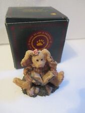 "Boyds Bears Daphne ""The Reader Hare"" Rabbit Christmas Ornaments New"