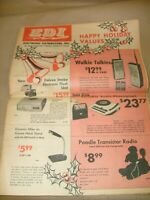 Electronic Distributors EDI Annual Catalog 1966 - Electronic Parts , radios , +