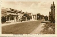 CPA 11 PRAT DE CEST LA GRANDE RUE ET LE PETIT CAFE