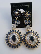 Bollywood/ Indian American Diamonds Earrings Brand New