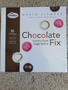 ThinkFun Chocolate Fix Sudoku-Style Logic Game (Factory Sealed)
