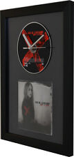 Avril Lavigne - Under My Skin - Framed CD Clock - Special Gift Idea