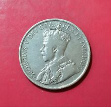 CANADA - NEWFOUNDLAND, 50 Cents 1917 C, Silver Coin                 [#M121]
