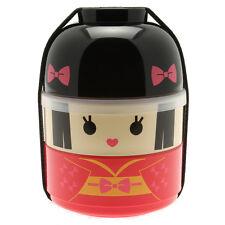 1pc Japanese Kokeshi Hime Princess  Bento box for Made In Japan #280-249