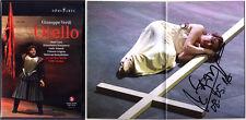 2.DVD Krassimira STOYANOVA Signiert VERDI: OTELLO Jose Cura Vittorio Grigolo