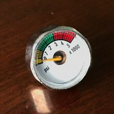 Brand New 4500 psi Tank Micro Gauge Paintball Hpa Nitrogen