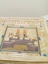 NEEDLECRAFT MAGAZINE November 1924 Thanksgiving ISSUE Crafts, Patterns & Food!