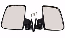Golf Cart Folding Side View Mirrors For Club Car EZGO Yamaha Zone Cart Universal