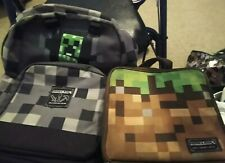 New listing Minecraft Backpack and Lunchbox