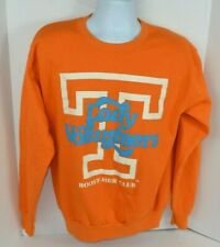 "Vtg Tennessee Lady Vols Crew Neck Logo Sweatshirt ""Boost-Her Club"", Orange Large"
