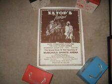 Original, M- 1975 Zz Top Denver concert poster - Fandango tour