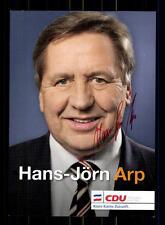 Hans Jörn ARP AUTOGRAFO MAPPA ORIGINALE FIRMATO # BC 75952