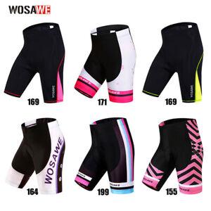 Pantalones cortos de ciclismo mujer Acolchado de gel Medias de bicicleta Verano
