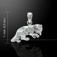 Fox .925 Sterling Silver Pendant by Peter Stone