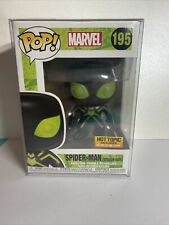 "Funko Pop! Marvel ""Spider-Man (Stealth Suit)"" #195 Hot Topic Exclusive *GITD*"