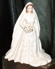 Royal Worcester Royal Brides Her Majesty Queen Elizabeth II Figurine