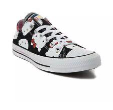 Girls Converse Hello Kitty CTAS Ox Sneakers Black/White Style: 362948C  Size 11