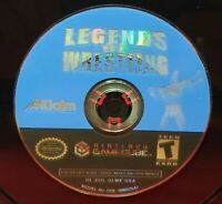 Legends of Wrestling Hulk Road Warriors Nintendo GameCube  Working Game