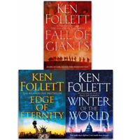 The Century Trilogy 3 Books Collection By Ken Follett Gift Set Pack Fall of NEW