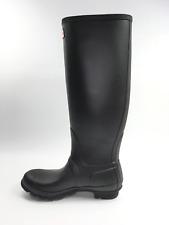 Hunter 'Original Tall' Rain Women's Boot {Matte} - Black [ US 8 ]