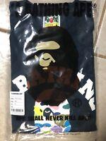 A Bathing Ape Mulit Camo Shirt in Navy