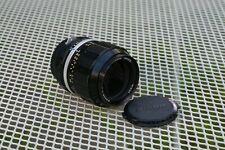 Nikon Nikkor 105mm F2.5 P.C Film Camera Lense F F2