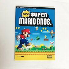 New Super Mario Bros. Spielberater   Neuwertig   Ungelesen
