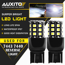 AUXITO 2X 7443 7440 Back Up Reverse Light 6000K White LED Tail Bulb For Ford EOA