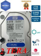 HARD DISK 2 TERA 2000 GB PC E DVR  CCTV GARANZIA ITALIA 2 TB SPEDIZIONE GRATIS