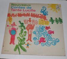 TANTE LUCILLE: Nouveaux Contes LP Record Quebec Television Show 60s