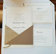 30 Sets - Gold Wedding Invitation Kit by Celebrate It - New sealed box