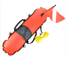 Technical Inflatable Float with Dive Flag for Diving Snorkeling Buoyancy Floats