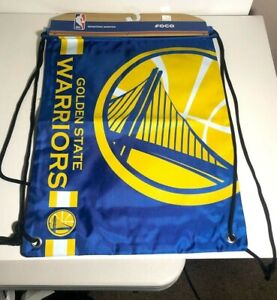 Golden State Warriors Drawstring Backpack Gym Bag Brand NEW and Free Shipping