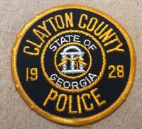 GA Clayton County Georgia Police Patch