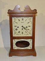 Shelf/Mantle Pendulum Clock Westminster Chimes. German Works by Herschede