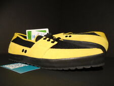 ADIDAS JS WATER LOAFER SLIP-ON JEREMY SCOTT SALES SAMPLE YELLOW BLACK B26277 9