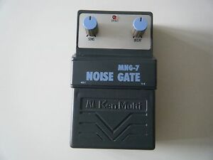 KEN MULTI MNG-7 NOISE GATE EFFECTS PEDAL MADE IN JAPAN ARION FX VINTAGE 1980's