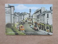 VINTAGE POSTCARD - HIGH STREET AND TOWN HALL - ENNISKILLEN - CO FERMANAGH   5444