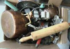 Large lot of kitchen miscellaneous to include: cookie cutters, copper. Lot 353
