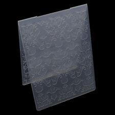 Prägefolder Blatt Embossing Folder DIY Basteln Kartenkunst Prägeschablone