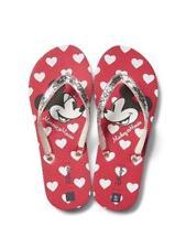 Gap Kids NWT Disney Mickey & Minnie Mouse Flip Flops Sandals MSRP:$16.95 SZ 5/6